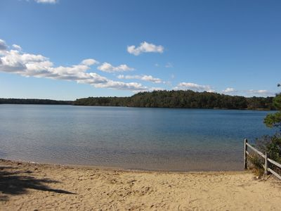 Harwich - Harwichport house rental - Long Pond, one of the best fresh water ponds on the Cape.