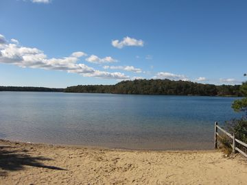 Long Pond, one of the best fresh water ponds on the Cape.