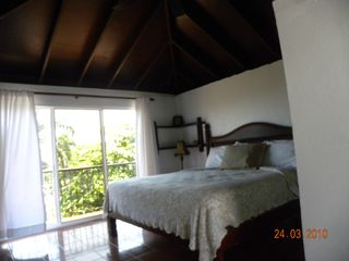 Puerto Plata villa photo - 3rd floor bedroom with kingsize serta pillowtop bed,ensuite,2 balconies