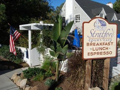 Street Cafe in Del Mar