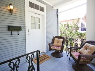 New Orleans apartment photo - Balcony overlooking Palmer Park