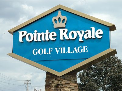 Condo located in Pointe Royale Golf Village.