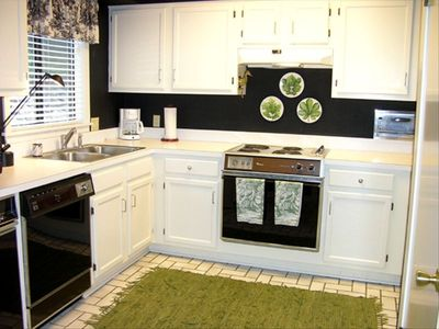 Full size, fully equipped kitchen. Enjoy Home cooked meals