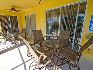 Luxury outdoor dining furniture - Emerald Island villa vacation rental photo