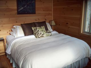 Bryson City cabin photo - Second Queen Bed upstairs, New 2012 and Very Comfortable!