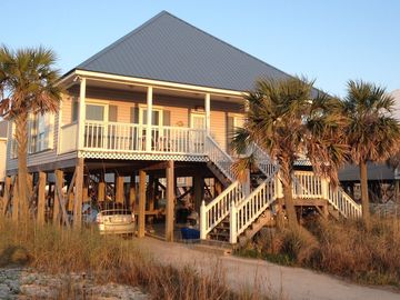 Dauphin Island house rental - Drive up to this beautiful Beach Home!