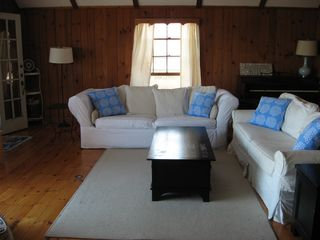 Harwich - Harwichport house photo - Main living room with two comfy couches.
