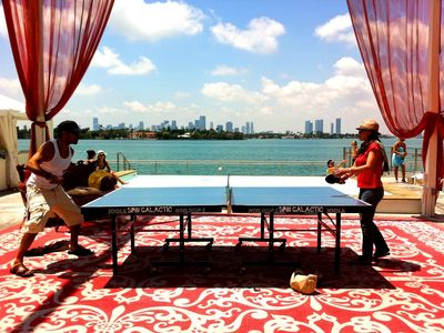 Ping Pong at the Mondrian