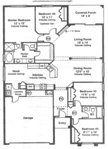 Floor plan, our's is reversed.