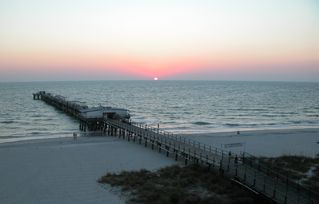 Redington Shores condo photo - This is our sunset view from balcony