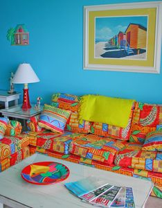 Bright and Colorful!  Fully Appointed and Fun for Kids too!