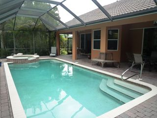 North Naples villa photo - Heated Pool with Jaccuzzi