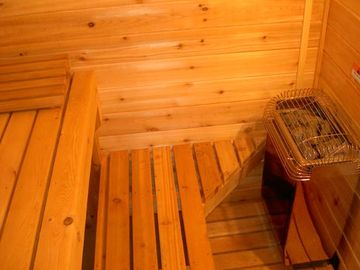 Cedar Sauna & Two Person Shower in 2nd Bathroom...