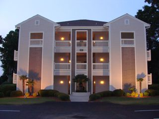 Sunset Beach condo photo - The unit is located on the left on the 2nd floor