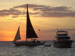 Playa Flamingo cottage photo - Sunset Sailing every day!!!