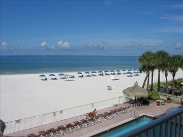 Madeira Beach condo rental - Beautiful View from Balcony