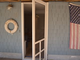 Bonnet Shores house photo - lower level entrance. Also where 2 person swing hangs from ceiling.