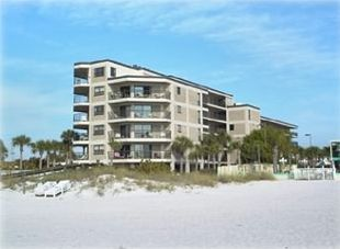 Beach View of Gulf Strand Resort