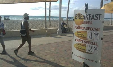 Breakfast on the Beach Gota love price wars