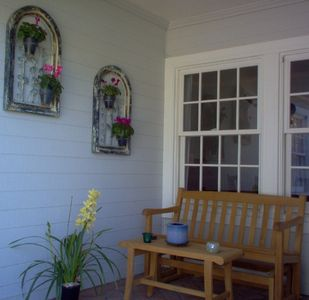 Point Loma house rental - Relax on the Front Porch