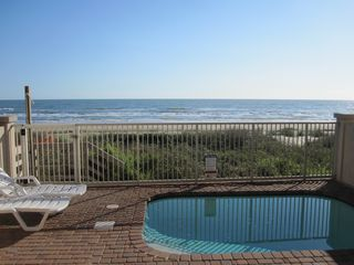 South Padre Island house photo - private pool / beach view