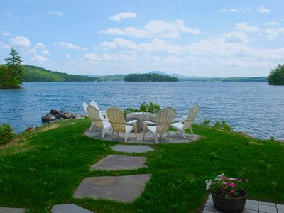 Spectacular Views! Waterfront Home On Lake Winnipesaukee, Meredith!