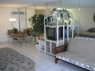 Thomas Drive Area condo photo - Sleeper Sofa for the kids...clean and fresh..!!