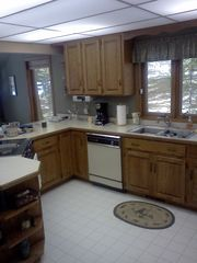 Walker cabin photo - Kitchen will have granite counter tops and copper sinks May 22, 2012.