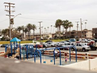 Seal Beach apartment photo - Beach playground right across the street