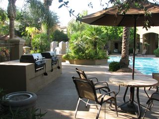 Scottsdale North condo photo - Gas grills, cabanas, lounges and spa all for your enjoyment.