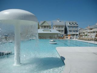 Sunset Island Ocean City townhome photo - Mushroom Fountain...Great for the Little Ones