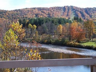 Charlemont apartment photo - Berkshire East Ski Resort autumn shot. Property located near base of resort.