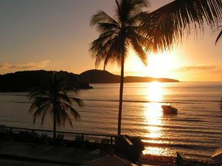 Southside condo photo - Gorgeous morning sunrise over Bolongo Beach - directly from the condo
