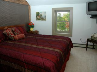 Gilford house photo - Private guest room with king bed