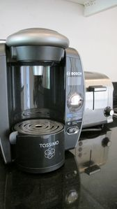 All new appliances including Tassimo coffee machine
