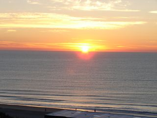 Ocean Dunes condo photo - Sun Rise from balcony