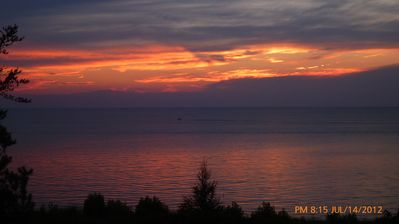 Grand Bend cottage rental - Lake Huron Sunset