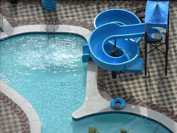 Orange Beach condo rental - Kids of all ages love the slide at the lazy river!