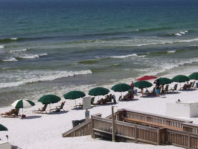 Fort Walton Beach condo rental - BEACH WALK-OVER & SHOWER AT ISLAND ECHO 3BC