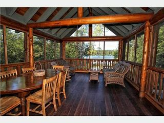 Moultonborough house photo - Screened Porch