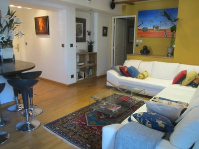 Antibes apartment rental - Lounge