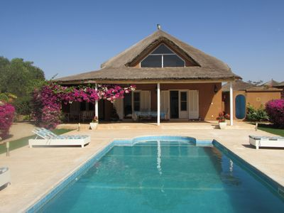 Beautiful villa with pool, comfortable, free wi fi in a haven of peace
