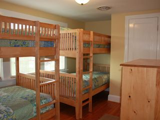 Harpers Ferry house photo - children's room with double sets of bunk beds and dresser and closet