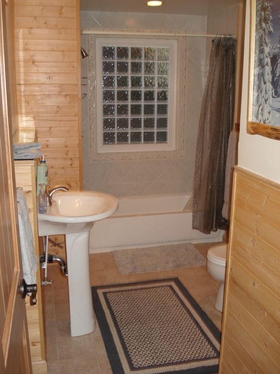 .Downstairs full Bathroom