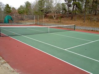 Chatham house photo - Recently resurfaced public tennis court within walking distance