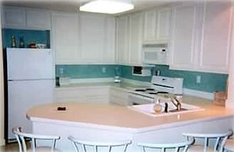 Orange Beach condo rental - Kitchen from Wet Bar Area Orange Beach Alabama Vacation Rental