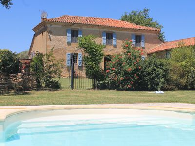 Idyllic Napoleonic Farmhouse with large pool and panoramic views