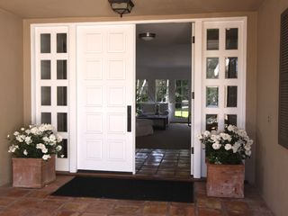 Malibu house photo - Gracious covered entry to our home