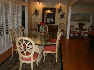 St. Simons Island house photo - Dining Room with seating for 8
