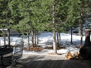 Truckee cottage photo - Back Yard and Patio